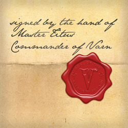 Wax Seal - City of Varn - Signed TITUS a