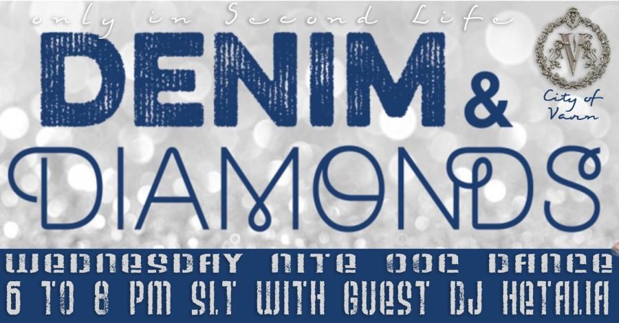 Denim & Diamonds Ad Size