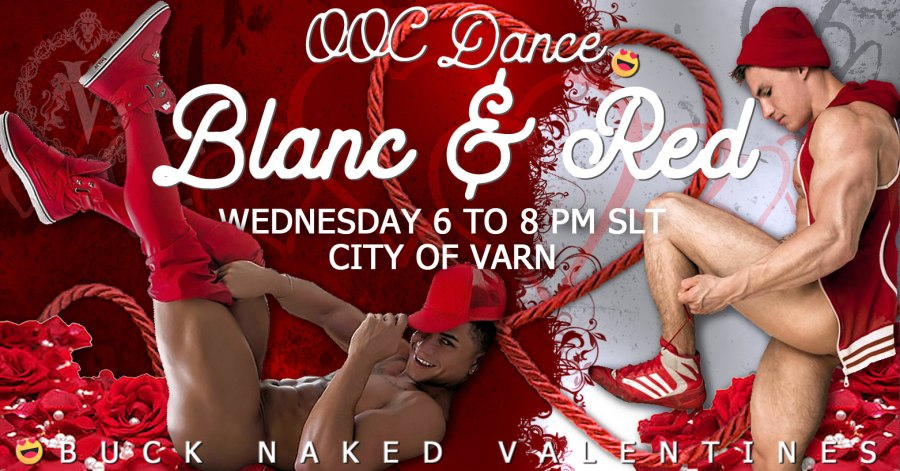Blanc and Red Ad Size